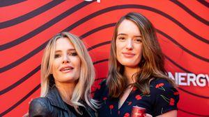 Wie Schwestern? Mirja du Mont mit Tochter Tara auf Event