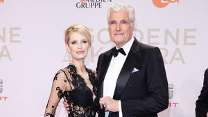 Mirja und Sky du Mont bei der Verleihung der 51. Goldenen Kamera 2016 in Hamburg