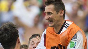 15 Tore! Miroslav Klose zieht mit Ronaldo gleich