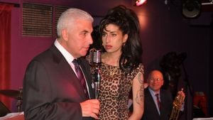 Mitch und Amy Winehouse