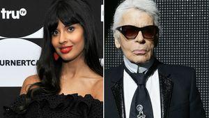 "Jameela Jamil beschimpft Karl Lagerfeld als ""Frauenhasser"""