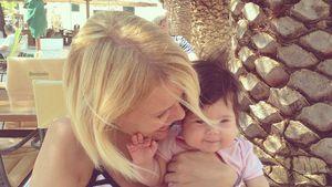 Monica Ivancan mit ihrer Tochter Rosa