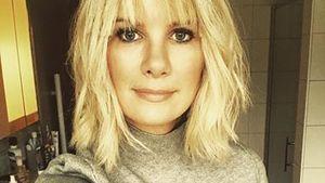 Monica Ivancan präsentiert ihre neue Frisur