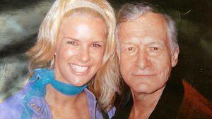 Monica Ivancan und Hugh Hefner 1998