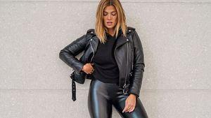 Heißer Schnappschuss: Nadine Klein flasht Fans im Leder-Look