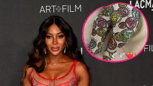 Luxus-Strampler: Naomi Campbell gibt seltenen Mama-Einblick
