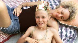 Naomi Watts mit ihrem Sohn Alexander Pete