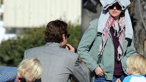 Naomi Watts Kinder besuchen den Papa am Film-Set