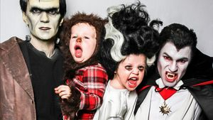 Grusel-Familie: Neil Patrick Harris schaurig süß