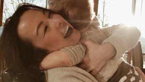 Nela Lee mit ihrem Sohn Nicolas