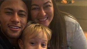 Fußballstar Neymar: Dieser süße Blondschopf ist sein Sohn