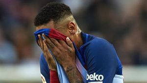 Emotions-Ausbruch bei Konferenz: Darum muss Neymar weinen!