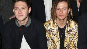 Niall Horan und Dougie Poynter bei der London Fashion Week 2017