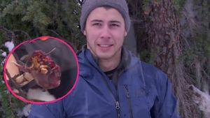 """Nick Jonas und sein Abendessen in """"Running Wild"""""""