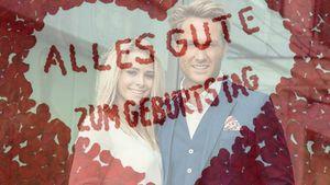 Saskia Atzerodt und Nico Schwanz in einem Liebes-Post auf Nicos Instagram-Profil