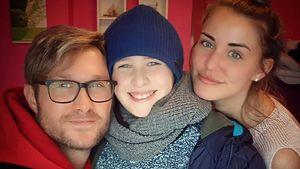 Nico Schwanz feierte mit Sohn und Julia Prokopy Weihnachten