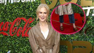 Rock und Hose: Nicole Kidman setzt auf ungewöhnlichen Look