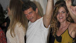 Party & Sonne: Antonio Banderas nach Herzinfarkt wieder fit
