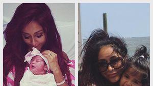 """Nicole """"Snooki"""" Polizzi mit ihrer Tochter Giovanna"""