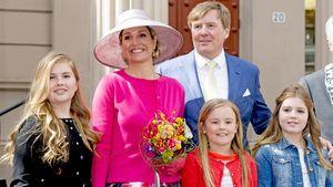 Königin Maxima, König Willem-Alexander, Prinzessin Ariane Wilhelmina Máxima Ines, Prinzessin Alexia
