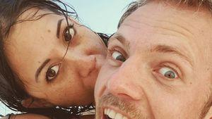 Seltenes Paar-Pic: GZSZ-Niklas mit Verlobter am Strand
