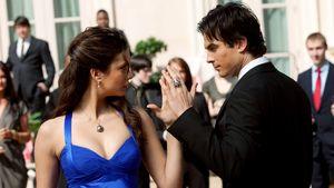 """Nina Dobrev und Ian Somerhalder in der Vampirserie """"The Vampire Diaries"""""""