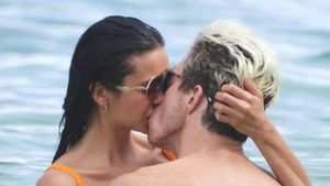 Feuchte Küsse: Nina Dobrev und Shaun White turteln im Urlaub