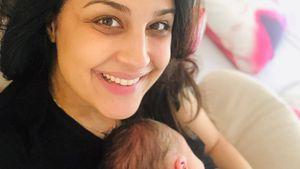 Im Mama-Glück: Nina Moghaddams zweites Baby ist endlich da!