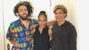 Barbara Becker: Süßes Pic mit ihren Söhnen Noah und Elias
