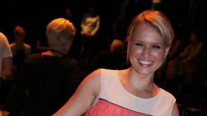 "Nova Meierhenrich: Fieser ""Fashion Week""-Sturz"