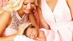 Oksana Kolenitchenko mit Baby Arielle