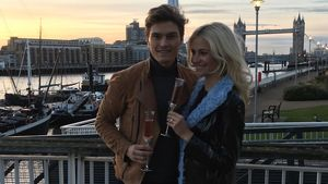 Oliver Cheshire und Pixie Lott in London