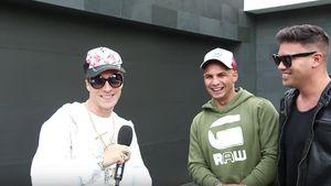 Funny Clip! Oli Pocher veräppelt Pietro Lombardi & Kay One