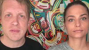 """Oli und Amira Pocher wollen sich vor """"Promi-Touris"""" schützen"""