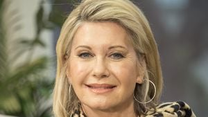 "Olivia Newton-John in der britischen TV-Show ""This Morning"""