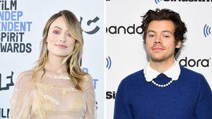 Zu den Kids: Olivia Wilde düst mit Harry Styles nach England
