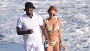 Küssend am Strand: Ist P. Diddy mit diesem Model zusammen?