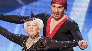 """Britain's Got Talent"": Rippenbruch bei Salsa-Omi"