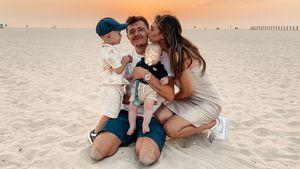 Alle vier vereint: Paola Maria teilt ein süßes Familienfoto