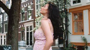 Blumenkugel: So schön inszeniert Paola Maria ihren Babybauch