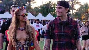 "Paris Hilton und Chris Zylka auf dem ""Coachella""-Festival"