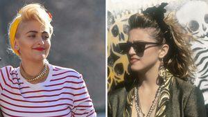 Paris Jackson in Paris und Madonna 1985