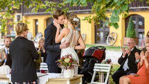 """""""Sturm der Liebe"""": Erste Fotos von Henry & Jessis Hochzeit"""