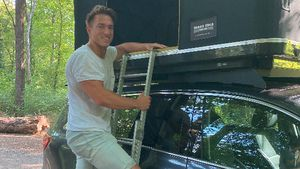 Mit Kind und Kegel: BTN-Star Patrick Fabian auf Campingtour
