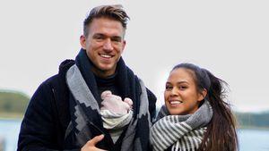 Mit fünf Monaten: Das kann BTN-Patrick Fabians Tochter schon