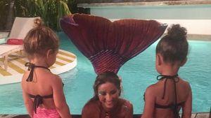 Penelope Disick und North West als Meerjungfrauen im Urlaub