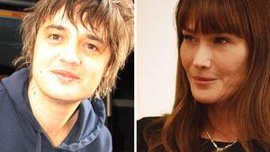 Carla Bruni Sarkozy und Pete Doherty