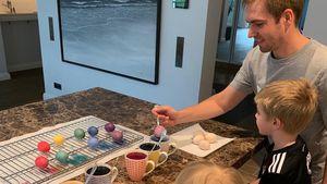 Superselten! Philipp Lahm postet Bild mit seinen Kindern