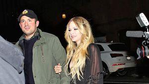 Seltener Auftritt: Avril Lavigne mit ihrem Freund unterwegs