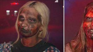 Hier werden Mimi und Pinar zu Horror-Gestalten